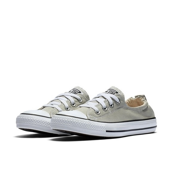 Womens Converse Chuck Taylor All Star Shoreline Slip-On Shoes Base Grey